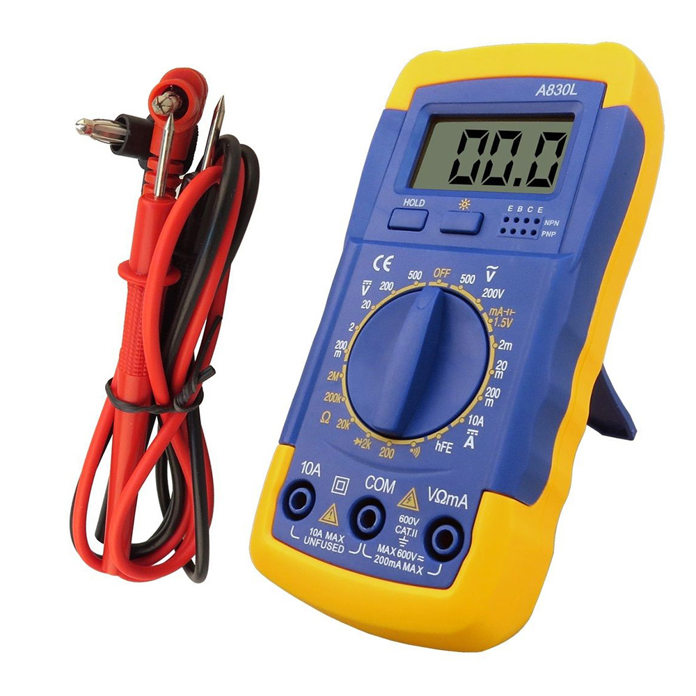 how to set multimeter to ohms